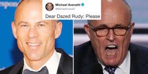 Avenatti and Giuliani